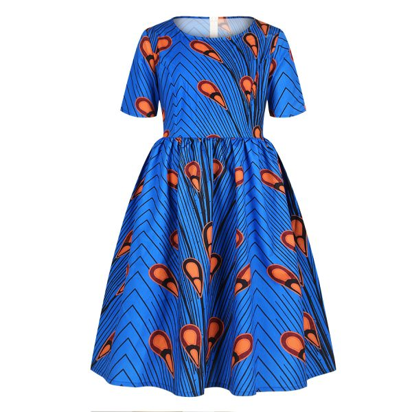 Robe africaines pour fille princesse