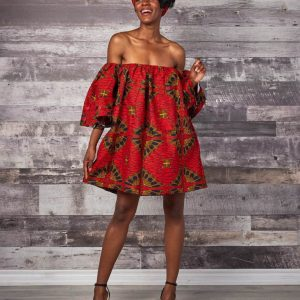 African Casual Loose Mother-Daughter Parent-Child Tube Top Dress